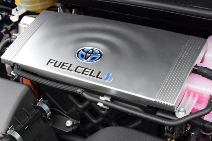 A hydrogen fuel cell